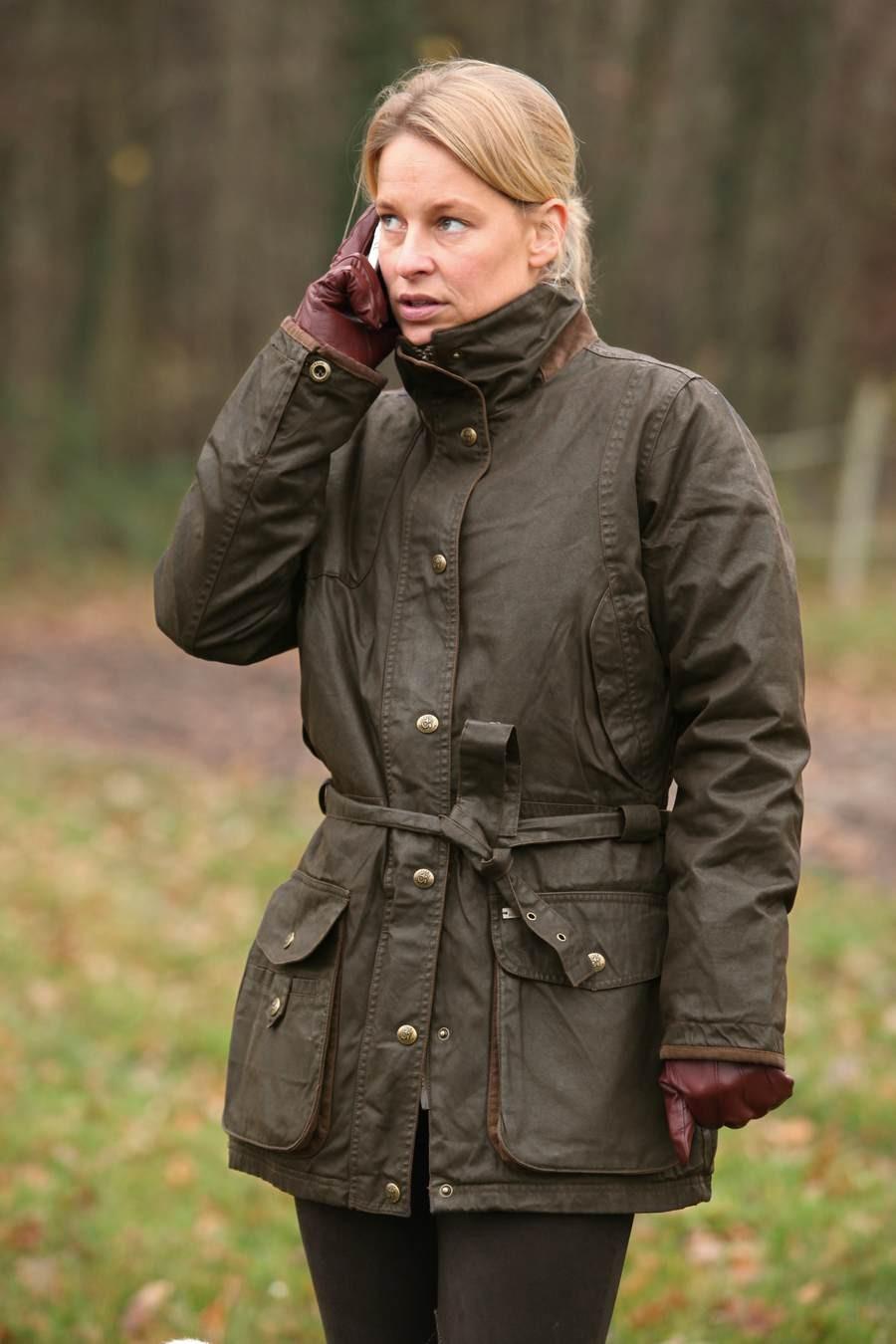 Damen-Wachsjacke *Celestine* ein Mode-Klassiker - Waidfrau-Blog