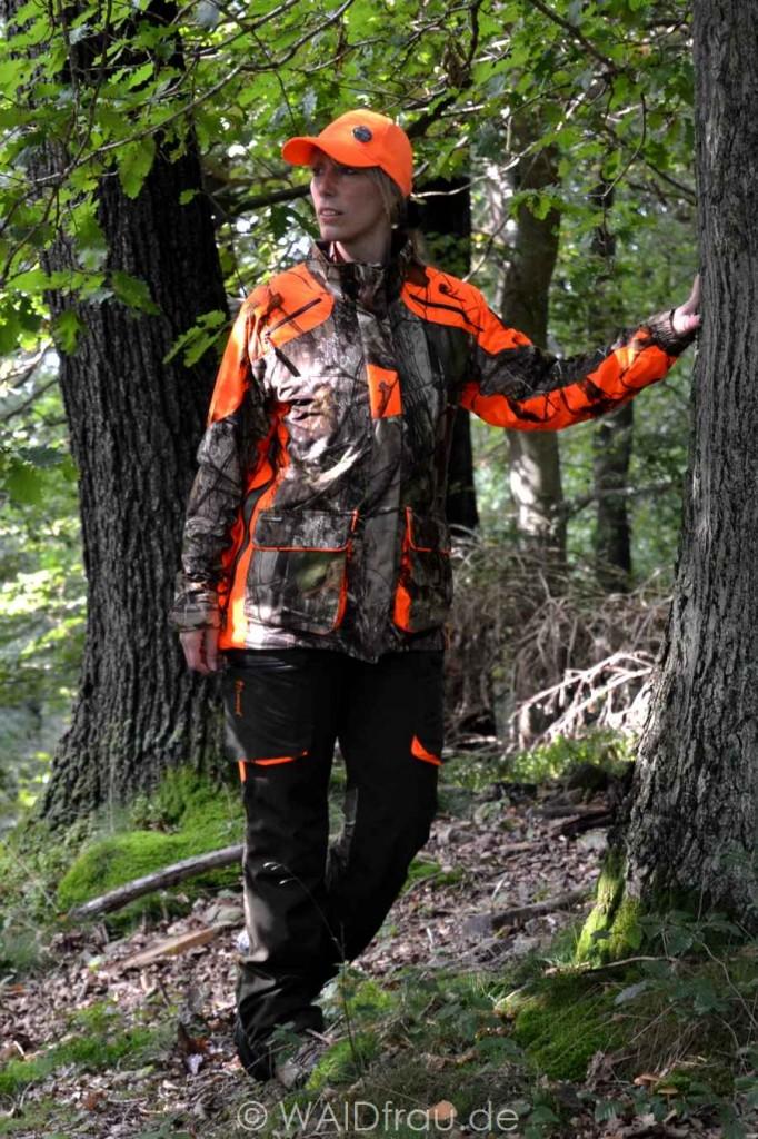 Damen Jagdjacke Red Deer - Wolf