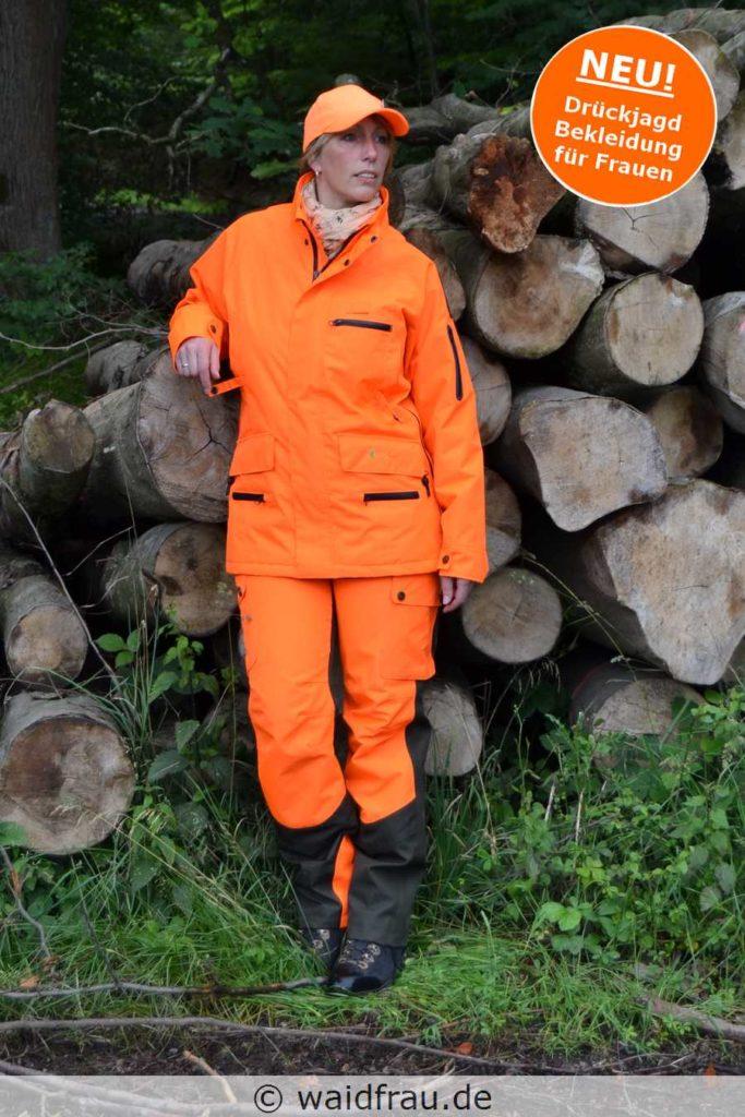 Damen Signal - Treibjagd, Drückjagd und Nachsuchen- Jacke und Hose - waidfrau.de