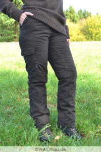 Damen Winter-Jagdhose / Ansitzhose für die Jägerin